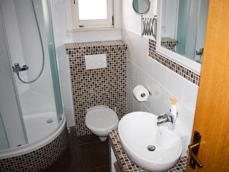 B1(4+1): bathroom with toilet