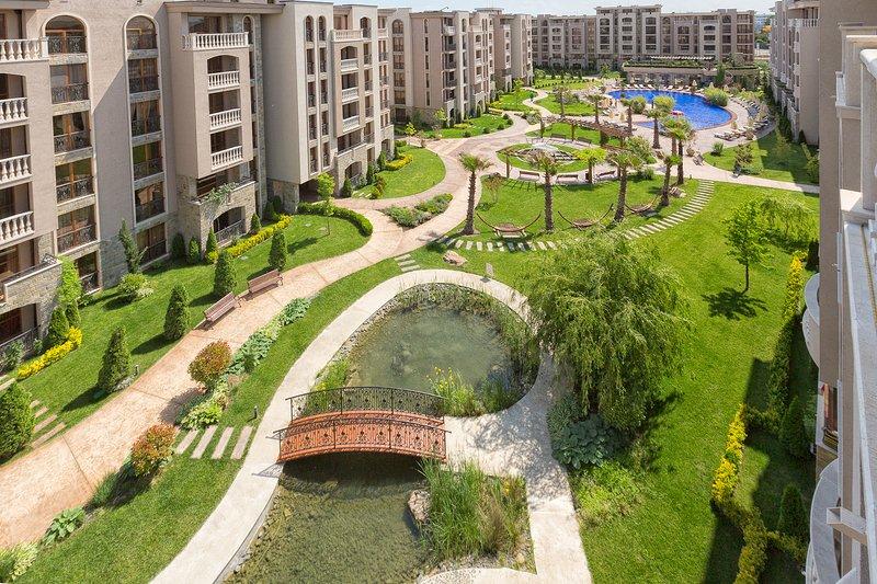 Two bedroom apartment Cascadas Family Resort – semesterbostad i Sunny Beach