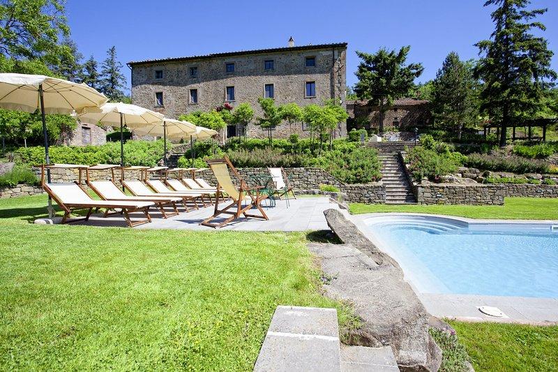 Villa Ruffignano, holiday rental in Teverina