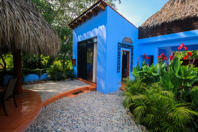 Casa Azul (The Blue House), holiday rental in Troncones