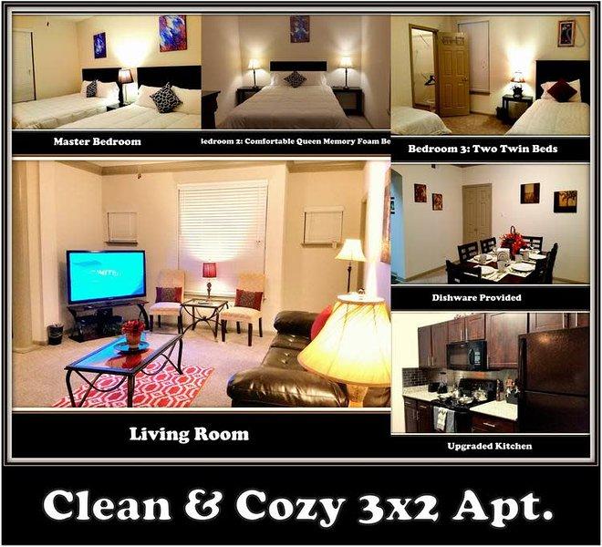 (2128) ☆POOL-VIEW☆Sugar Land☆Richmond☆Rosenberg☆, location de vacances à Missouri City