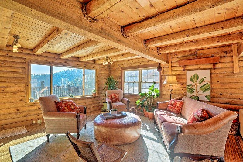 Fuga verso la solitudine e la bellezza di questa casa isolata per le vacanze.