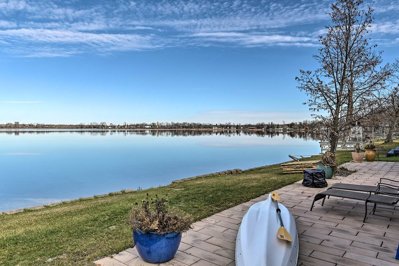 Lakefront Home 10 Min from Detroit Mountain!, holiday rental in Ogema