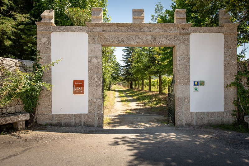 Gate of Entry at Quinta de Luou