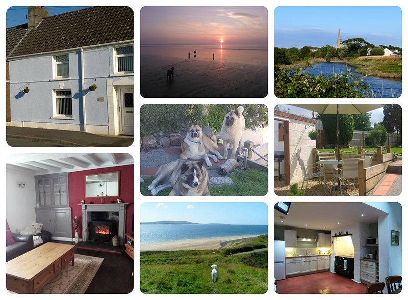 Hafan Bach, dog friendly cottage - Kidwelly, vacation rental in Kidwelly