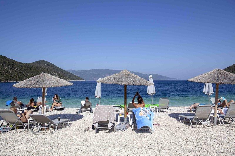Antisamos beach near Sami