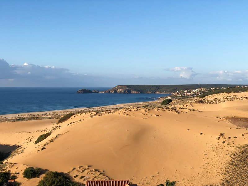 Panorama Ferienhaus Meer und Dune, vacation rental in Province of Medio Campidano