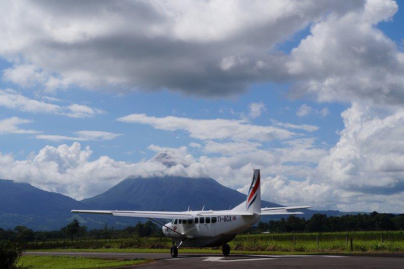 Cette propriété peut être votre base pendant vos vacances au Costa Rica et organiser des vols pour tous les points chauds