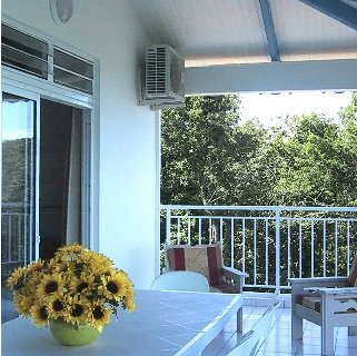 Amazing apt with balcony & Wifi, holiday rental in La Pagerie