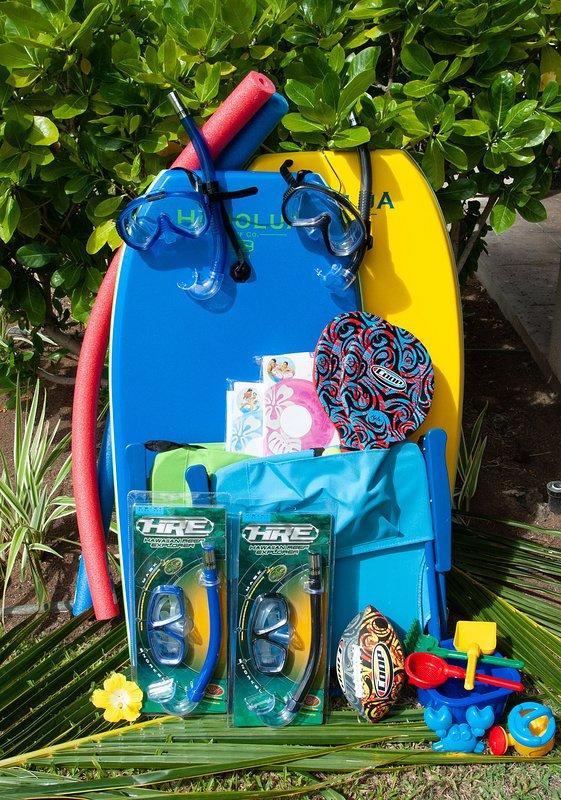 Enjoy Use of Beach Amenities - Boogie Boards, Beach Chairs, Snorkel Gear, Floats & Beach Toys