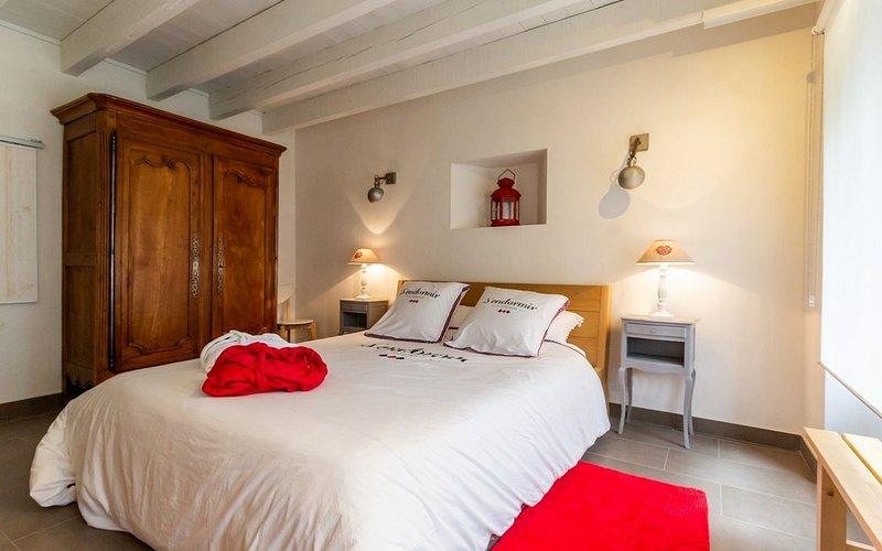 Gite de Charme en bord de Loire, vakantiewoning in Sautron