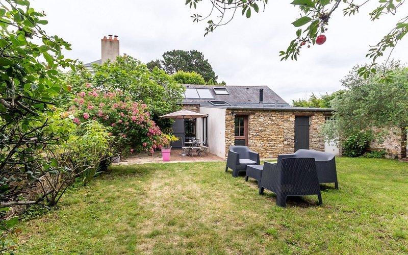 Gite and private garden