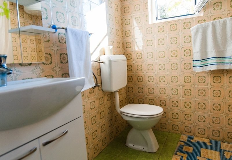 A1 (7): salle de bain avec toilette