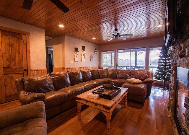 Living Area Christmas Theme