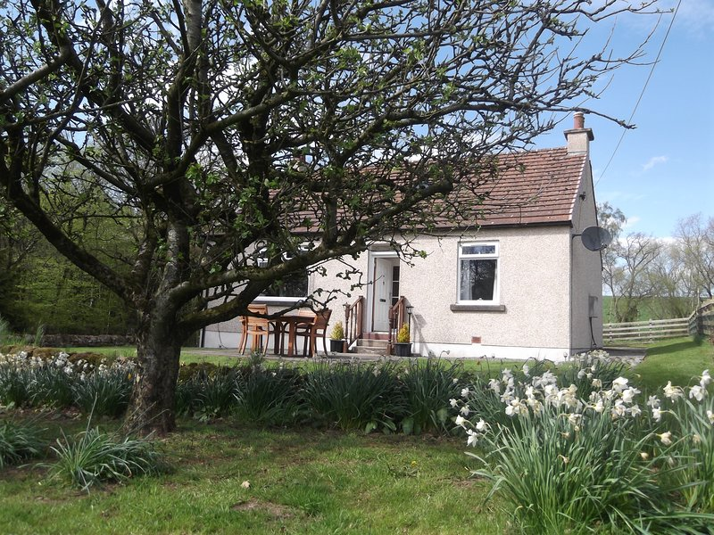 Pretty cottage in it's own setting with large fenced garden
