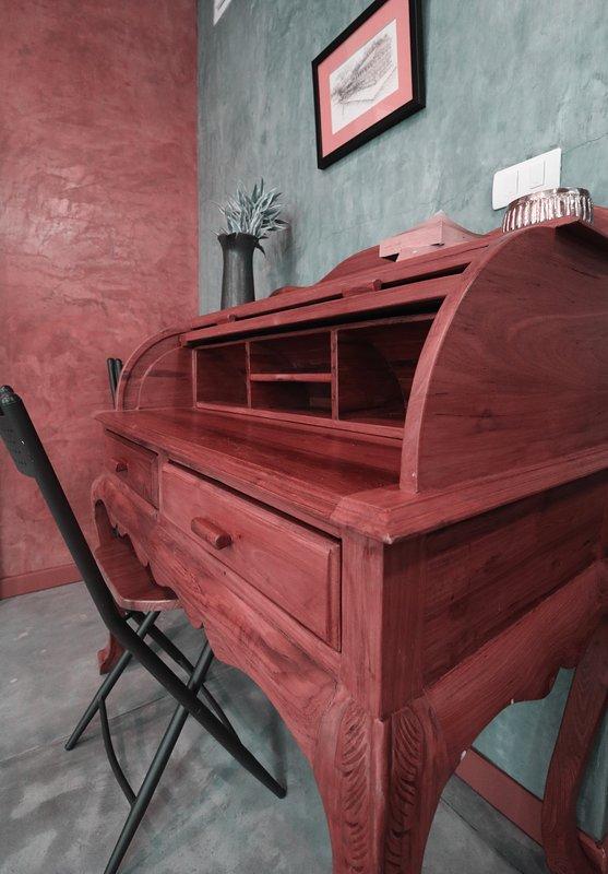Vintage Teak wood Desk