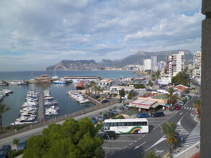 Puerto Calpe y Marina.