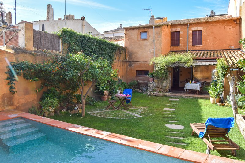 House in Palafrugell with private pool and garden.Capacity 6 people-SA PUNTA CB