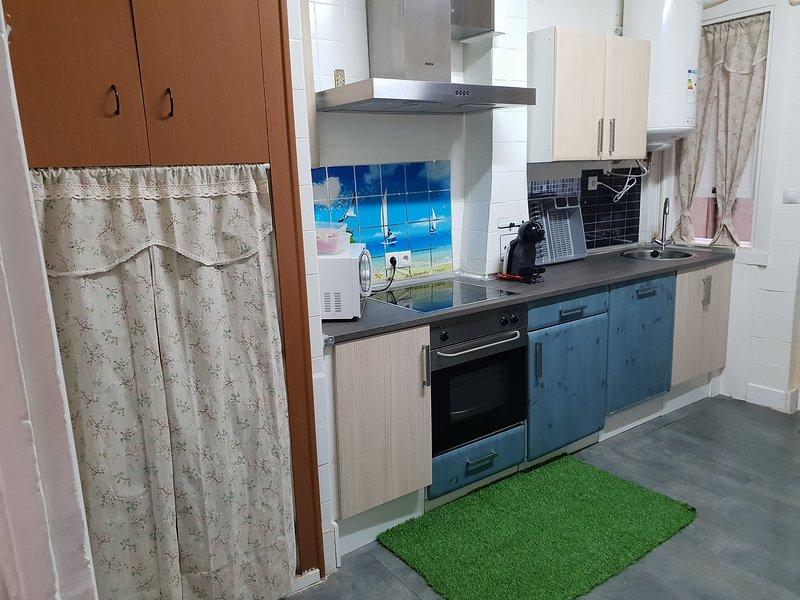Kitchen front.