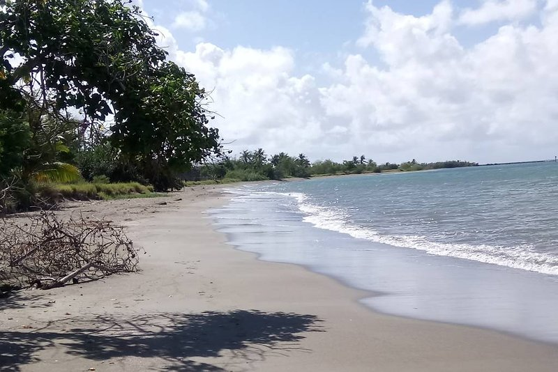 Ponce Seafront Holiday Home in Reserva Natural Cucharas Beach, holiday rental in Playa de Guanica