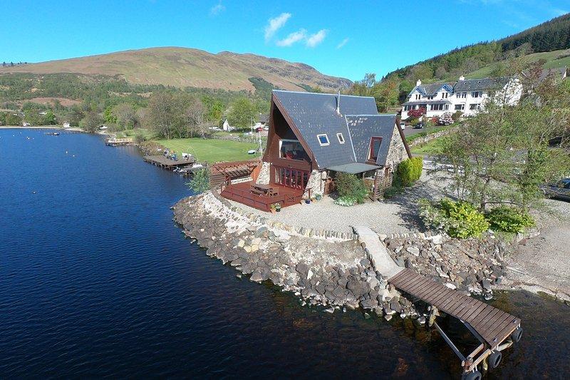 The Boathouse, casa vacanza a St. Fillans