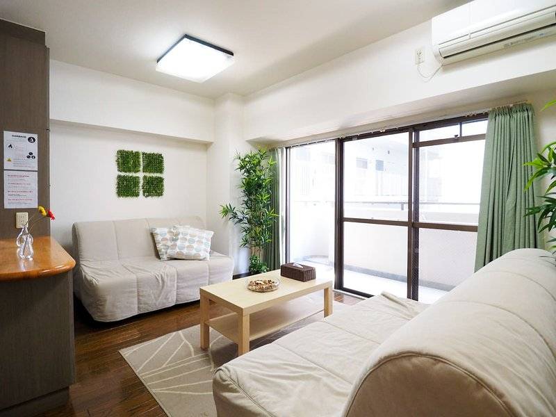 Dotonbori 5min Cozy Stay Apartment GD7, holiday rental in Osaka Prefecture
