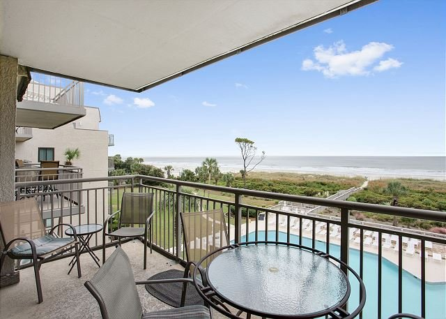 Ocean One 413 - Oceanfront 4th Floor Condo, vacation rental in Hilton Head