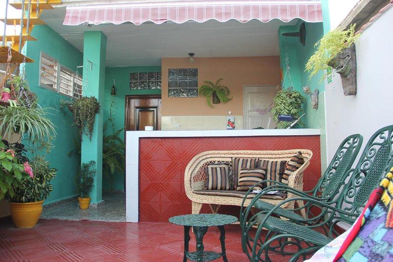 Casa Solaire en Santa Clara Cuba Caribe, alquiler de vacaciones en Cuba