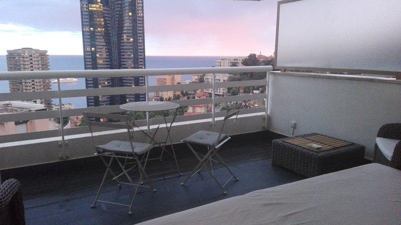 View of the terrace ... Monaco