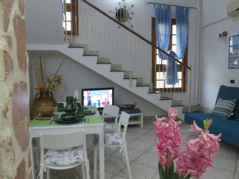 air-conditioned living room
