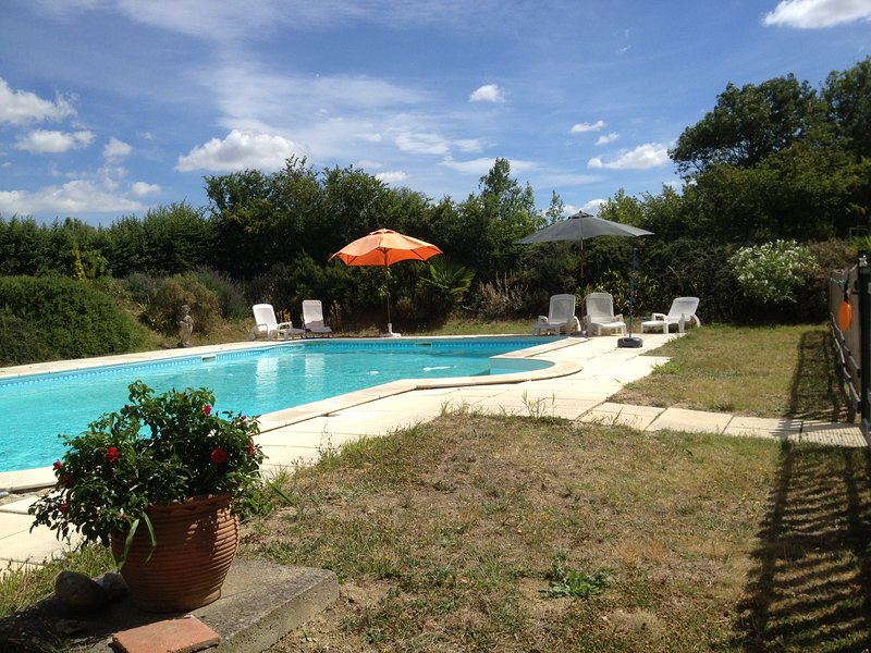 Amazing mansion with swimming-pool, location de vacances à Belveze-du-Razes