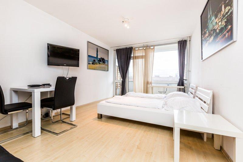 K31b Studio Apartment Deutz, alquiler vacacional en Rieth