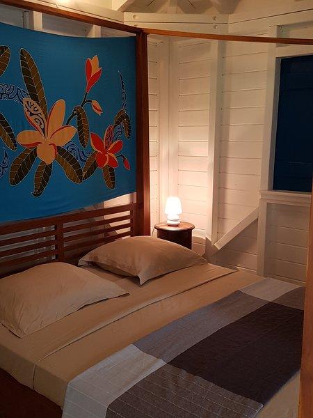 Bungalow en bois neuf T2 de 36 m² à Deshaies à 800 m de la plage de la perle!, vacation rental in Rifflet