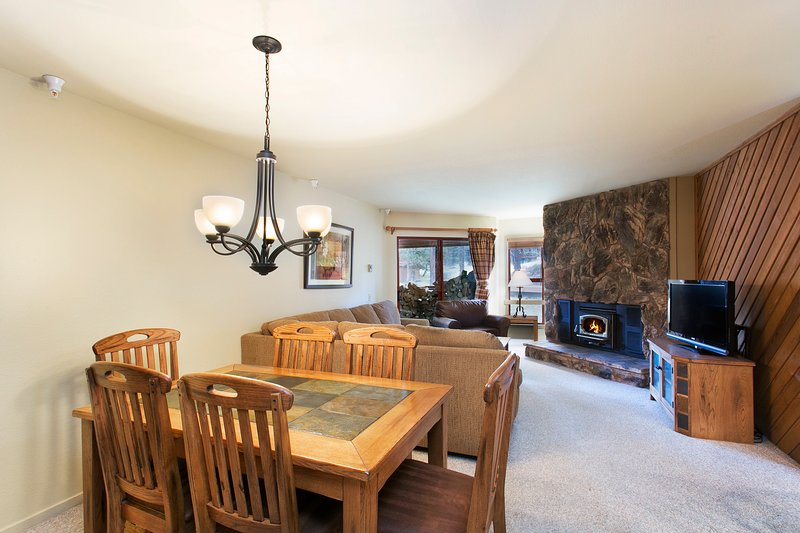 Aspen Creek #223 Has A Wood Burning Fireplace