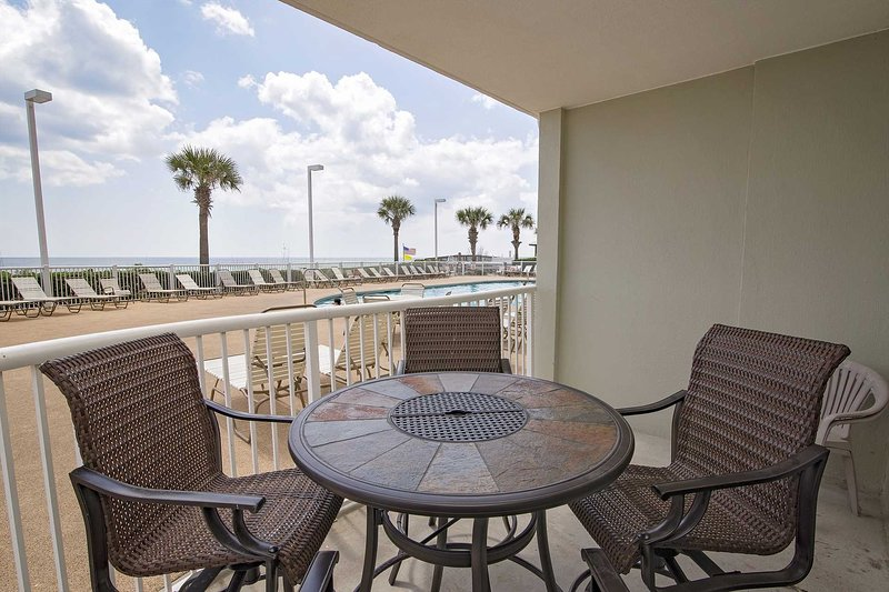 Spring Into A Vacation Ground Floor Gulf Front