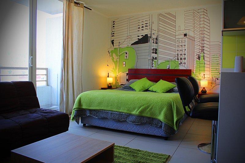 Studio Department Vina Centro, holiday rental in Villa Alemana
