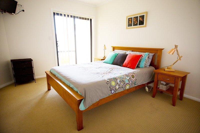 Maser bedroom King bed