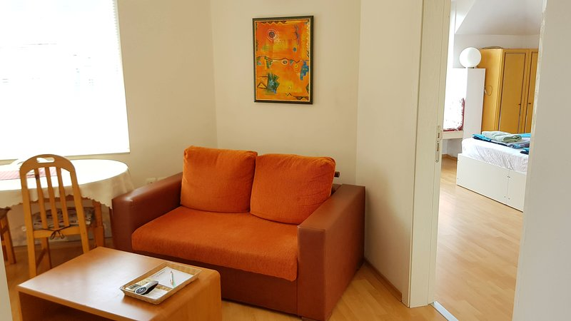 Bright 1 Bedroom Apartment. Great location. Free Parking on site, vacation rental in Kalofer