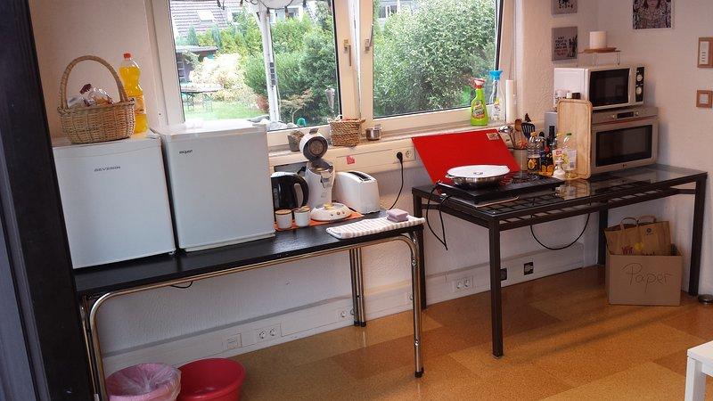 guest kitchen fascilities