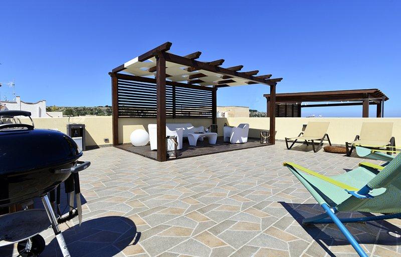 Mira6 - San Vito Lo Capo - Terrazza Solarium 550 m, casa vacanza a San Vito lo Capo