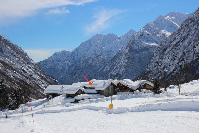 Dalla pista da sci/From the ski slope