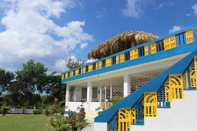 Main Villa with Upstairs Patio and Gazebo
