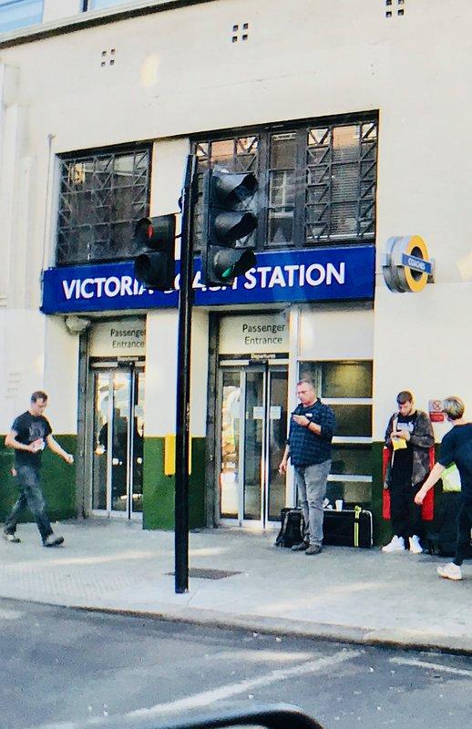 Victoria Coach Station is  7 mins walk Victoria Tube/Train 10 mins walk (all London Coaches, Trains