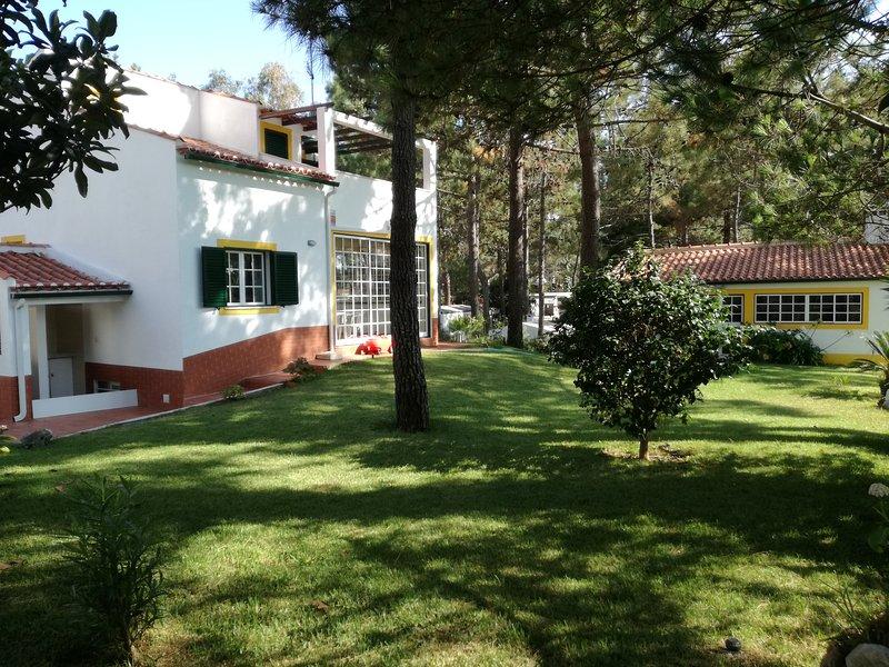 Spacious apartment with sea view, casa vacanza a Vila Nova de Santo Andre