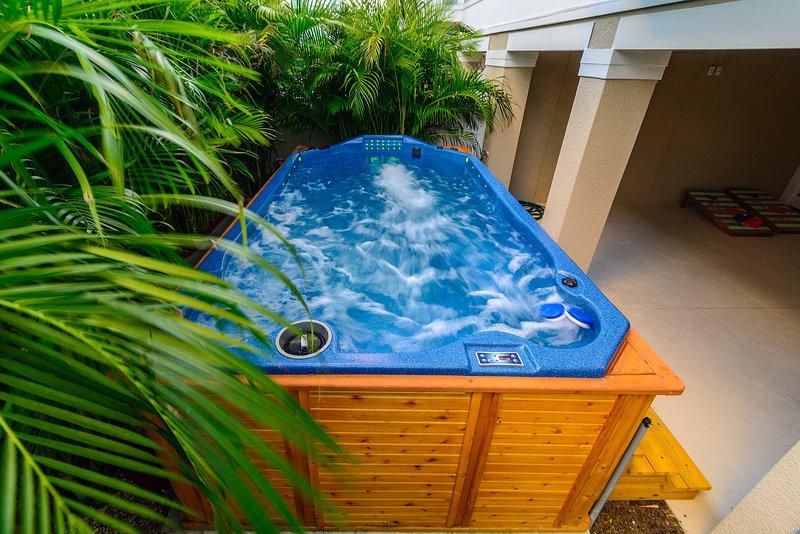 Tranquil Tarpon Cottage - Giant Swim Spa, alquiler de vacaciones en Redington Beach