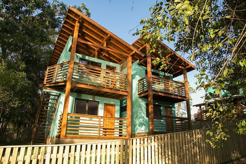 Cabana Família - Refúgio Brisa da Lagoa, holiday rental in Ibiraquera