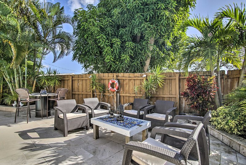 Paradise awaits at this 2-bedroom, 1-bath Fort Lauderdale vacation rental house!