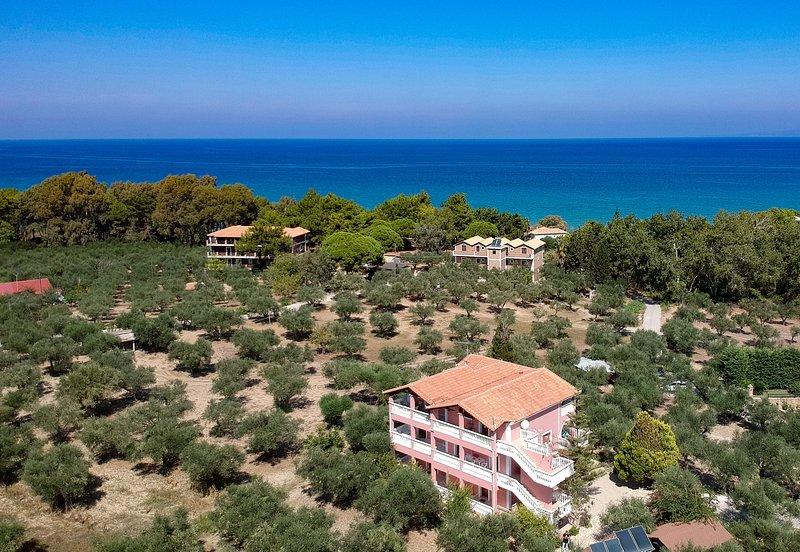 Apartment two bedroom sea view, location de vacances à Ano Vasilikos