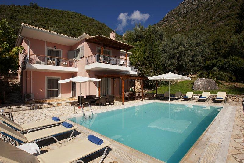 4 Bedroom Villa Vasia, Lefkas, Greece, vacation rental in Perigiali