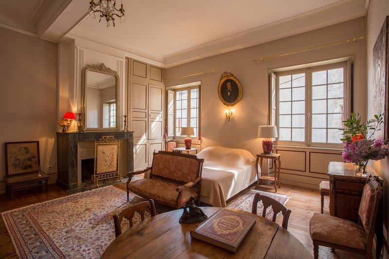 Suite de charme dans un château XVIIIème a seulement 30 minute de Biarritz, alquiler de vacaciones en Landes